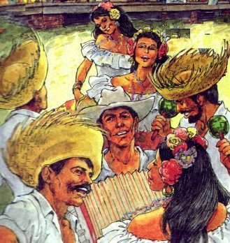 Puerto Rico Christmas Tradition.A Life In The Day A Puerto Rican Christmas